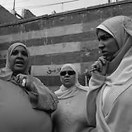 Egypt. Cairo : women of the comite  in DARB el AMAR area , islamic Cairo