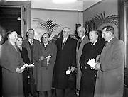 Fine Gael Ard Fheis at Engineers Hall, 04/02/1958.
