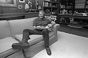 President Elect Jimmy Carter in his study in his Plains, Georgia residence.