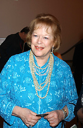 LADY ANTONIA FRASER at a fundraising gala to celebrate 150 years of The National Portrait Gallery, at the NPG, St.Martin's Place, London on 28th February 2006.<br />