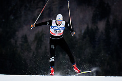 Einaste Kein (EST) during Man 1.2 km Free Sprint Qualification race at FIS Cross<br /> Country World Cup Planica 2016, on January 16, 2016 at Planica,Slovenia. Photo by Ziga Zupan / Sportida