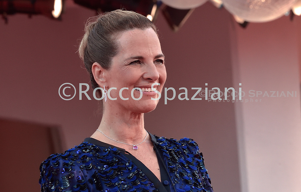 VENICE, ITALY - SEPTEMBER 12: Roberta Armani walk the red carpet ahead of closing ceremony at the 77th Venice Film Festival on September 12, 2020 in Venice, Italy.<br /> (Photo by Rocco Spaziani)