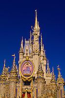 Cinderella's Castle, Disney World, Orlando, Florida USA