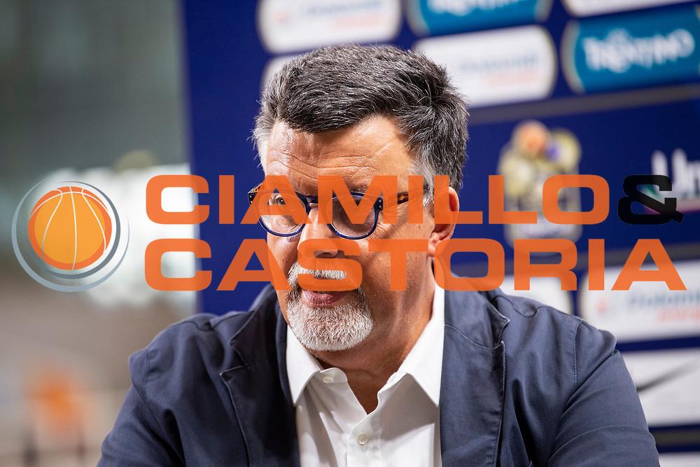 Diego Flaccadori<br /> Campionato Italiano 2021/22<br /> Dolomiti Energia Trento<br /> conferenza stampa Diego Flaccadori<br /> <br /> Foto Montigiani/Ciamillo