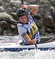 Kano / Kajakk / Elvepadling<br /> Foto: imago/Digitalsport<br /> NORWAY ONLY<br /> <br /> 07.09.2011  <br /> KANU - ICF WM 2011 BRATISLAVA,SLOWAKE<br /> <br /> ICF Kanu Weltmeisterschaften, Wildwasser-Slalom, Kajak-Einer, Damen. Bild zeigt Mariann Sæther (NOR).