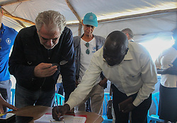 EU Commissioner CHRISTOS STYLIANIDES announces €78 million in humanitarian aid to South Sudan after visit to Uganda. During the trip, the Commissioner went to BidiBidi settlement in Northern Uganda, now the third largest refugee settlement in the world. It currently holds more than 210,000 South Sudanese refugees escaping from war, and the ongoing influx of a daily average of 3,000 refugees is causing a strain on humanitarian aid and funding.