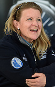 Putney. London,  Great Britain.<br /> OUWBC, Chief Coach. Christine WILSON, at the pre race Press Conference.<br /> 2016 Tideway Week, Putney. Putney Embankment, Championship Course. River Thames.<br /> <br /> Friday  25/03/2016 <br /> <br /> [Mandatory Credit; Peter SPURRIER/Intersport-images]