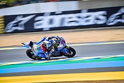 May 18, 2018 - Le Mans, France - 73 ALEX MARQUEZ (ESP) EG 0 0 MARC VDS (BEL) KALEX MOTO2 (Credit Image: © Panoramic via ZUMA Press)