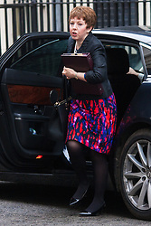 London, March 24th 2015. Members of the Cabinet gather at Downing street for their weekly meeting. PICTURED: Baroness Stowell, Leader of the House of Lords