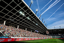 Spectators during football match between National teams of Slovenia and Malta in Round #6 of FIFA World Cup Russia 2018 qualifications in Group F, on June 10, 2017 in SRC Stozice, Ljubljana, Slovenia. Photo by Vid Ponikvar / Sportida
