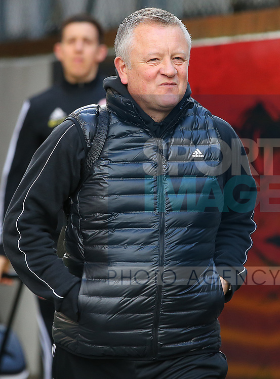 Sheffield United's manager Chris Wilder arrives ahead of the Premier League match at Selhurst Park, London. Picture date: 1st February 2020. Picture credit should read: Paul Terry/Sportimage