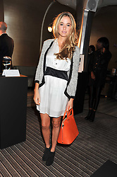FLORENCE BRUDENELL-BRUCE at a party to launch PRPS's new luxury denim line called Noir whilst raising money for UNICEF Japan, held at Nobu Berkeley Street, London on 5th September 2011.