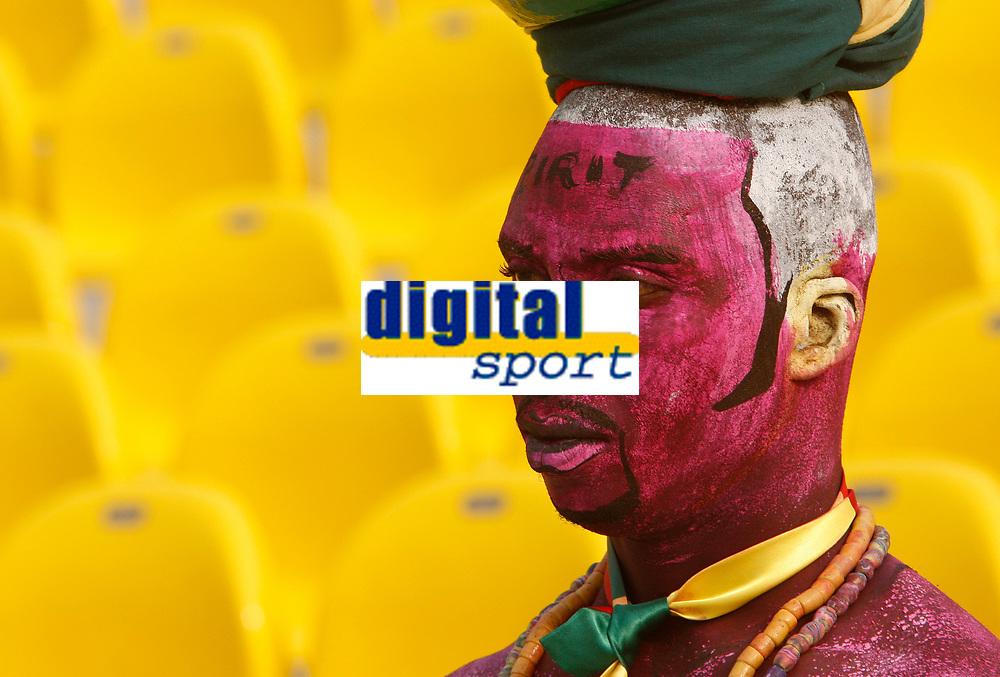 Photo: Steve Bond/Richard Lane Photography.<br />Ghana v Morocco. Africa Cup of Nations. 28/01/2008. Ghana fan