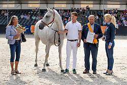 Rinkes Peter en Anne Mieke<br /> KWPN Kampioenschappen - Ermelo 2018<br /> © Hippo Foto - Dirk Caremans<br /> 17/08/2018
