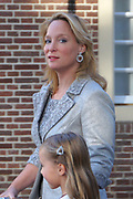 Doop Willem Jan ( 01-07-2013), zoon van Prins Floris en Prinses Aimee oppaleis het Loo<br /> <br /> Christening of Willem Jan ( 01-07-2013), son of Prince Floris and Princess Aimee on palace het Loo<br /> <br /> Op de foto / On the photo:  Prinses Margarita de Bourbon de Parme en Tjalling Siebe ten Cate met Paola en Julia / Princess Margarita de Bourbon de Parme and Tjalling Siebe ten Cate with Paola and Julia