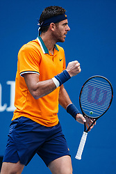 September 4, 2018 - Flushing Meadow, NY, U.S. - FLUSHING MEADOW, NY - SEPTEMBER 04: JUAN MARTIN DEL P305744O (ARG) day nine of the 2018 US Open on September 04, 2018, at Billie Jean King National Tennis Center in Flushing Meadow, NY. (Photo by Chaz Niell/Icon Sportswire) (Credit Image: © Chaz Niell/Icon SMI via ZUMA Press)
