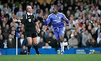 Photo: Marc Atkins.<br />Chelsea v West Ham United. The Barclays Premiership. 18/11/2006. Geremi celebrates scoring Chelsea's 1st goal.