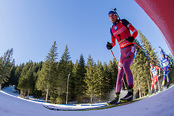 Anton Shipulin (RUS) during Men 15 km Mass Start at day 4 of IBU Biathlon World Cup 2015/16 Pokljuka, on December 20, 2015 in Rudno polje, Pokljuka, Slovenia. Photo by Urban Urbanc / Sportida