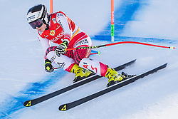 10.01.2020, Keelberloch Rennstrecke, Altenmark, AUT, FIS Weltcup Ski Alpin, Abfahrt, Damen, 2. Training, im Bild Nicole Schmidhofer (AUT) // Nicole Schmidhofer of Austria in action during her 2nd training run for the women's Downhill of FIS ski alpine world cup at the Keelberloch Rennstrecke in Altenmark, Austria on 2020/01/10. EXPA Pictures © 2020, PhotoCredit: EXPA/ Johann Groder