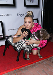 LOS ANGELES, CA, USA - NOVEMBER 11: 8th Annual Stand Up For Pits held at the Hollywood Improv Comedy Club on November 11, 2018 in Los Angeles, California, United States. 11 Nov 2018 Pictured: Kaley Cuoco. Photo credit: Xavier Collin/Image Press Agency/MEGA TheMegaAgency.com +1 888 505 6342