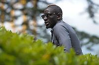 Mamadou Sakho - 01.06.2015 -Equipe de France - Arrivee des joueurs a Clairefontaine<br /> Photo : Andre Ferreira / Icon Sport