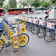 Rental bikes in Vienna, Austria
