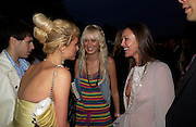 Paris Hilton, Kimberley Stewart and Tamara Mellon. The Serpentine Summer party co-hosted by Jimmy Choo. The Serpentine Gallery. 30 June 2005. ONE TIME USE ONLY - DO NOT ARCHIVE  © Copyright Photograph by Dafydd Jones 66 Stockwell Park Rd. London SW9 0DA Tel 020 7733 0108 www.dafjones.com