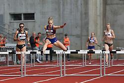 Denmark's Sara Slott Petersen competes at Aarhus Nordic Challenge 2016 at Ceres Park, Aarhus, Denmark, 25.6.2016. (Allan Jensen/EVENTMEDIA).