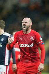 Rangers Kris Boyd. Falkirk 1 v 1 Rangers, Scottish Championship game played 27/2/2014 at The Falkirk Stadium .