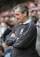 Photo: Lee Earle.<br /> Southampton v Derby County. Coca Cola Championship. Play Off Semi Final, 1st Leg. 12/05/2007.Southampton manager George Burley.