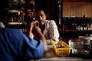 Barista, Addis Abeba 8 settembre 2014.  Christian Mantuano / OneShot