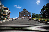 The dramatic facade of the ruins of St Paul's is the icon of Macau.
