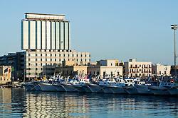 Paranze, navi da pesca nel porto di Gallipoli