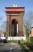"""""""Jumbo"""" Victorian water tower, Colchester, Essex, England"""