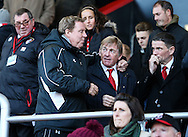 Harry Redknapp with Kenny Dalglish during the Premier League match at the Vitality Stadium, London. Picture date December 4th, 2016 Pic David Klein/Sportimage