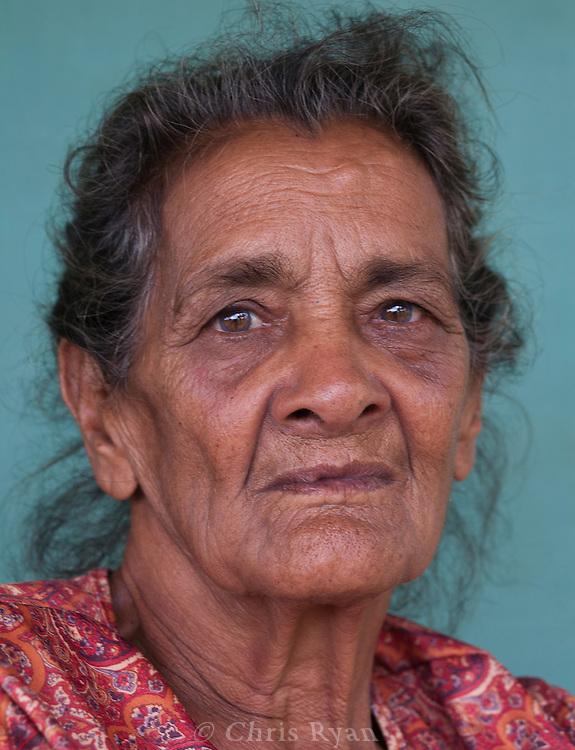Portrait of woman, Vinales Valley, Cuba