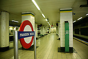 subway station in London