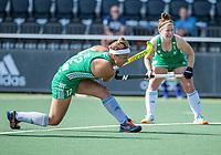 AMSTELVEEN -  Elena Tice (Ier) tijdens de dames -wedstrijd  ,  Ierland-Italie (3-0) bij het  EK hockey , Eurohockey 2021. COPYRIGHT KOEN SUYK