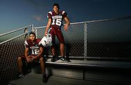 Photo by Alex Jones..Mission Eagles: #12 Nathan Salazar, #15 Filiberto Morfin