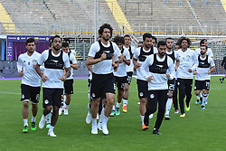BERGAMO, June 1, 2018  Egyptian players are seen during a training session in Bergamo, Italy, on May 31, 2018. The Egyptian national team held a training session on Thursday at the Atleti Azzurri d'Italia stadium in Bergamo, Italy in preparation for the pre-World Cup friendly against Colombia. (Credit Image: © Xinhua/Str/Xinhua via ZUMA Wire)