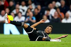 David Neres of Ajax lies on the floor - Mandatory by-line: Robbie Stephenson/JMP - 30/04/2019 - FOOTBALL - Tottenham Hotspur Stadium - London, England - Tottenham Hotspur v Ajax - UEFA Champions League Semi-Final 1st Leg