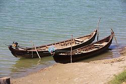 Boat Taxi's Along The Ayeyarwady River