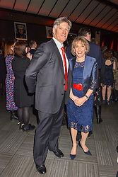 Dame Esther Rantzen and Michael Bowen at the Costa Book of The Year Award held at  Quaglino's, 16 Bury Street, London, England. 29 January 2019. <br /> <br /> ***For fees please contact us prior to publication***