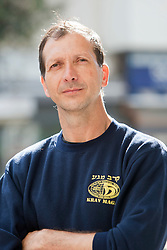 IKMF chairman Avi Moyal, day ten on the Train & Travel in Israel, on Sunday 9th Jan 2011. Train & Travel is a unique ten day program designed for IKMF's instructors, students & guests, interested in combining Krav Maga training with a tour of the holy land..©2011 Michael Schofield. All Rights Reserved.