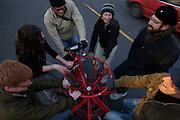 CoBi-7 Conference Bike built for 7-people