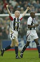 Sportsbeat Images<br />West Bromwich Albion v Cardiff<br />Saturday 14th February 2004<br />WBA V CARDIFF CITY<br />LEE HUGHES CELE