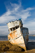 Point Reyes Shipwreck on Tomales Bay, Inverness, Marin County, California