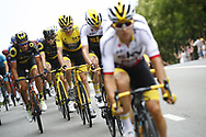 Geraint Thomas (GBR - Team Sky) Yellow Jersey during the 105th Tour de France 2018, Stage 21, Houilles - Paris Champs-Elysees (115 km) on July 29th, 2018 - Photo Luca Bettini / BettiniPhoto / ProSportsImages / DPPI