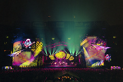 """The Grateful Dead Live at Giants Stadium 03 August 1994. Photograph taken during """"Space"""""""