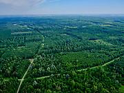 Nederland, Flevoland, Zeewolde, 21–06-2020; Horsterwold met De Stille Kern, nieuw aangelegd bos in Flevoland<br /> Horsterwold, newly designed forest in the new polder Flevoland.<br /> <br /> luchtfoto (toeslag op standaard tarieven);<br /> aerial photo (additional fee required)<br /> copyright © 2020 foto/photo Siebe Swart